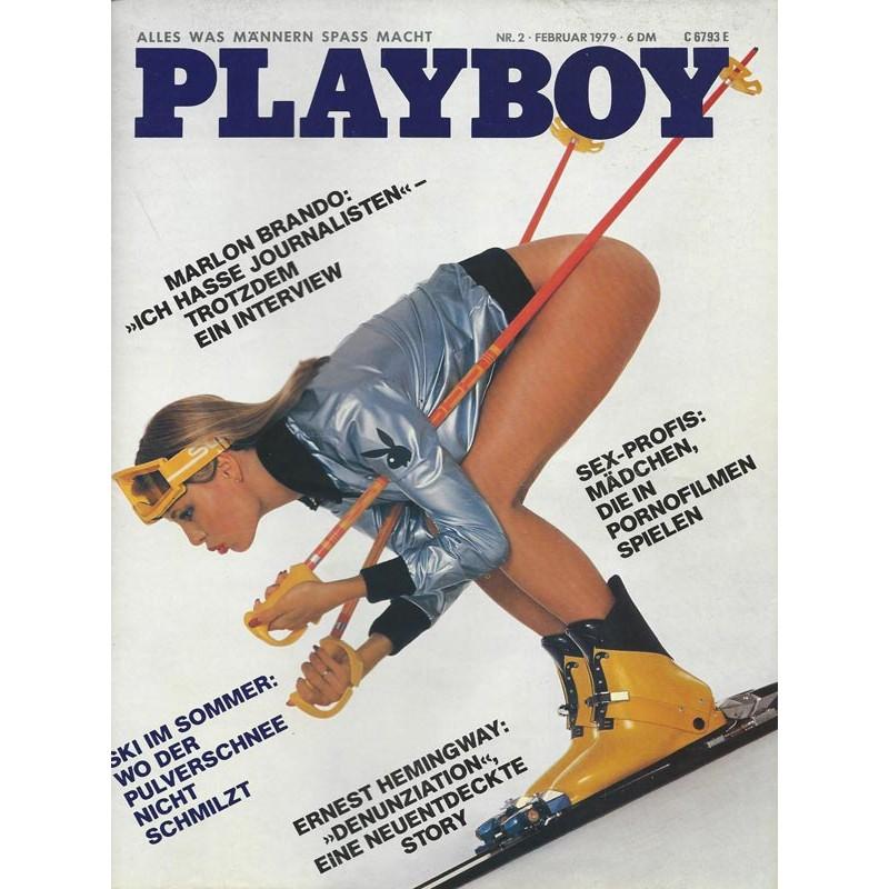 Playboy Nr.2 / Februar 1979 - Playmate Claudia Hoffmann