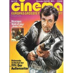 CINEMA 11/83 November 1983 - Der Außenseiter