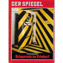 Der Spiegel Nr.46 / 6 November 1967 - Notstandsgesetze