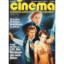 CINEMA 12/83 Dezember 1983 - Die Rückkehr der Jedi Ritter