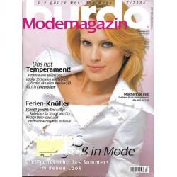 burda Moden 7/Juli 2006 - Weiss groß in Mode