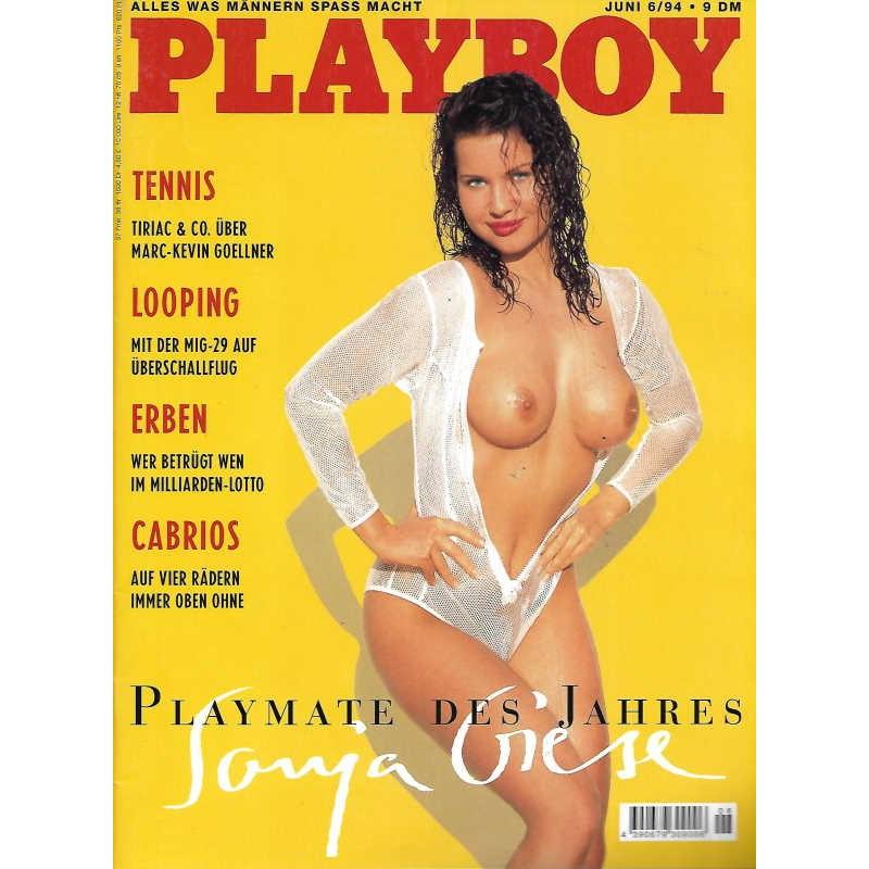 Playboy Nr.6 / Juni 1994 - Sonja Giese
