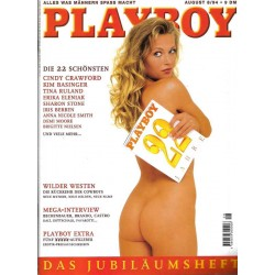Playboy Nr.8 / August 1994 - Daniela Jambrek