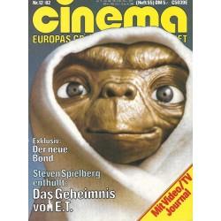 CINEMA 12/82 Dezember 1982 - Das Geheimnis von E.T.