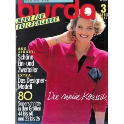 burda Moden 3/Herbst 1987 -...