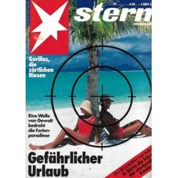 stern Heft Nr.24 / 9 Juni 1993 - Gefährlicher Urlaub