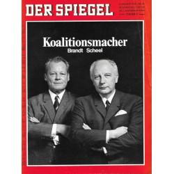 Der Spiegel Nr.41 / 6 Oktober 1969 - Brandt und Scheel