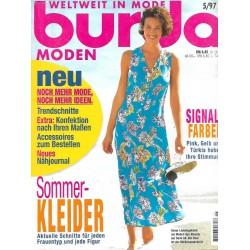 burda Moden 5/Mai 1997 - Sommerkleider