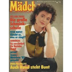 Mädchen Nr.11 /  10 März 1982 - Auch Rund steht Bunt!