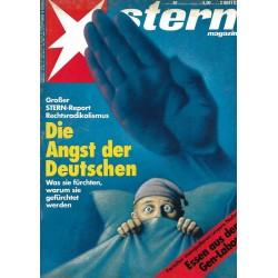 stern Heft Nr.40 / 24 September 1992 - Rechtsradikalismus