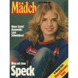 Mädchen Nr.2 / 5 Januar 1978 - Weg mit dem Speck