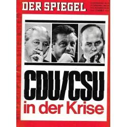 Der Spiegel Nr.42 / 13 Oktober 1969 - CDU & CSU in der Krise