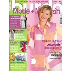 burda Moden 4/April 2001 - Barbara Eligmann esplosiv