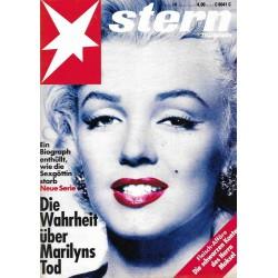 stern Heft Nr.14 / 1 April 1993 - Die Wahrheit über Marilyns Tod