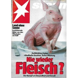 stern Heft Nr.14 / 27 März 1991 - Nie wieder Fleisch?