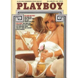 Playboy Nr.4 / April 1975 - Cyndi Wood