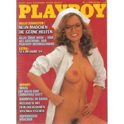 Playboy Nr.2 - Februar 1985...