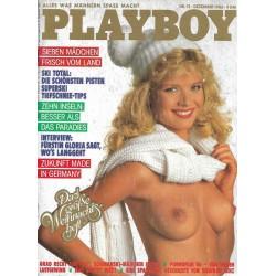 Playboy Nr.12 / Dezember 1986 - Claudia Kopacka