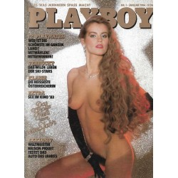 Playboy Nr.1 / Januar 1984 - Evelyn Rille