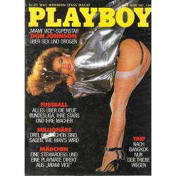 Playboy Nr.3 / März 1987 - Teri Weigel