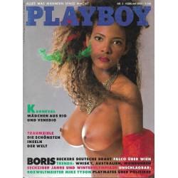 Playboy Nr.2 / Februar 1988 - Monica Andrea Silvia Do Santos