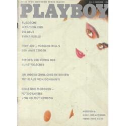 Playboy Nr.5 / Mai 1988 - Laurie Carr