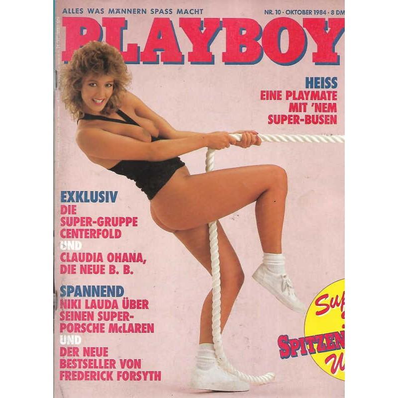 Playboy Nr.10 / Oktober 1984 - Spitzen Mädchen