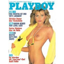 Playboy Nr.7 / Juli 1987 - Elke Jeinsen