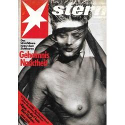 stern Heft Nr.5 / 25 Januar 1990 - Geheimnis Nacktheit