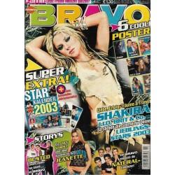BRAVO Nr.2 / 2 Januar 2003 - Shakira
