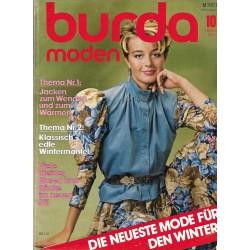 burda Moden 10/Oktober 1982 - Jacken zum Wenden
