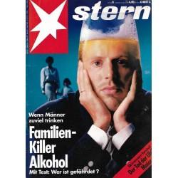 stern Heft Nr.6 / 3 Februar 1994 - Familen Killer Alkohol