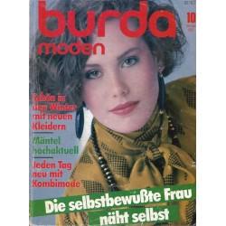 burda Moden 10/Oktober 1983 - Mäntel hochaktuell