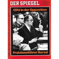 Der Spiegel Nr.47 / 17 November 1969 - Fraktionsführer Barzel