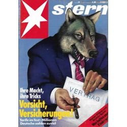 stern Heft Nr.51 / 16 Dezember 1993 - Vorsicht, Versicherungen!