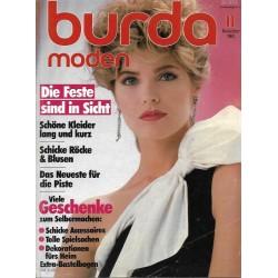 burda Moden 11/November 1983 - Die Feste sind in Sicht