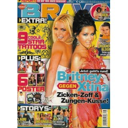 BRAVO Nr.38 / 10 September 2003 - Britney gegen Xtina