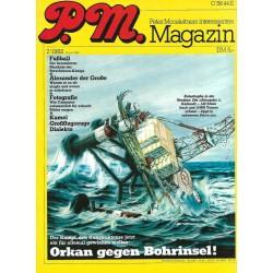 P.M. Ausgabe Juli 7/1982 - Orkan gegen Bohrinsel