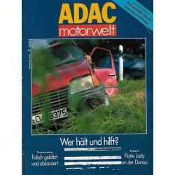 ADAC Motorwelt Heft.9 / September 1992 - Wer hält und hilft?