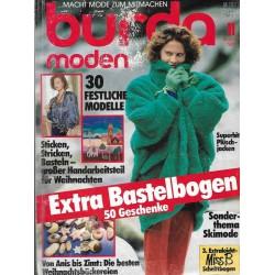 burda Moden 11/November 1985 - Plüschjacken