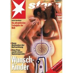 stern Heft Nr.41 / 5 Oktober 1995 - Wunschkinder