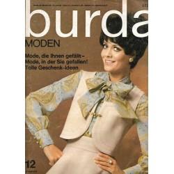 burda Moden 12/Dezember 1968 - Schlagermodell / Glockenrock