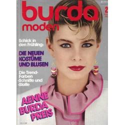 burda Moden 2/Februar 1983 - Die neuen Kostüme und Blusen