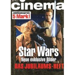 CINEMA 3/99 März 1999 - Star Wars