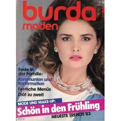 burda Moden 3/März 1983 - Schön in den Frühling