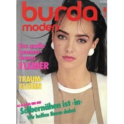 burda Moden 4/April 1983 - Sommerthema Kleider