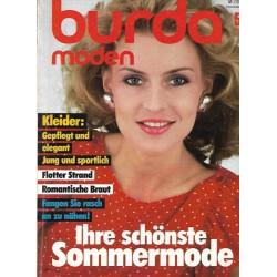 burda Moden 5/Mai 1983 - Ihre schönste Sommermode