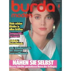 burda Moden 6/Juni 1983 - Nähen Sie selbst