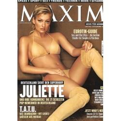MAXIM Juni 2003 - Juliette Schoppmann