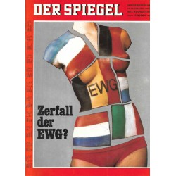 Der Spiegel Nr.48 / 24 November 1969 - Zerfall der EWG?